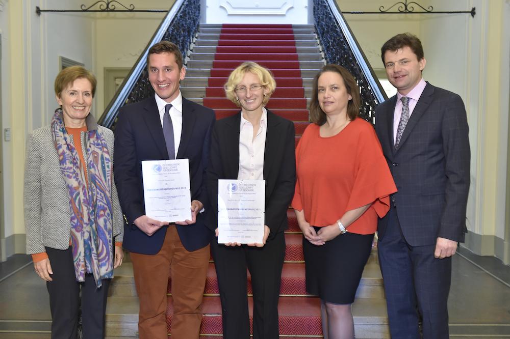 PR Bild Österreichische Gesellschaft für Senologie (ÖGS) Preisverleihung Teva Rationpharm Förderpreis