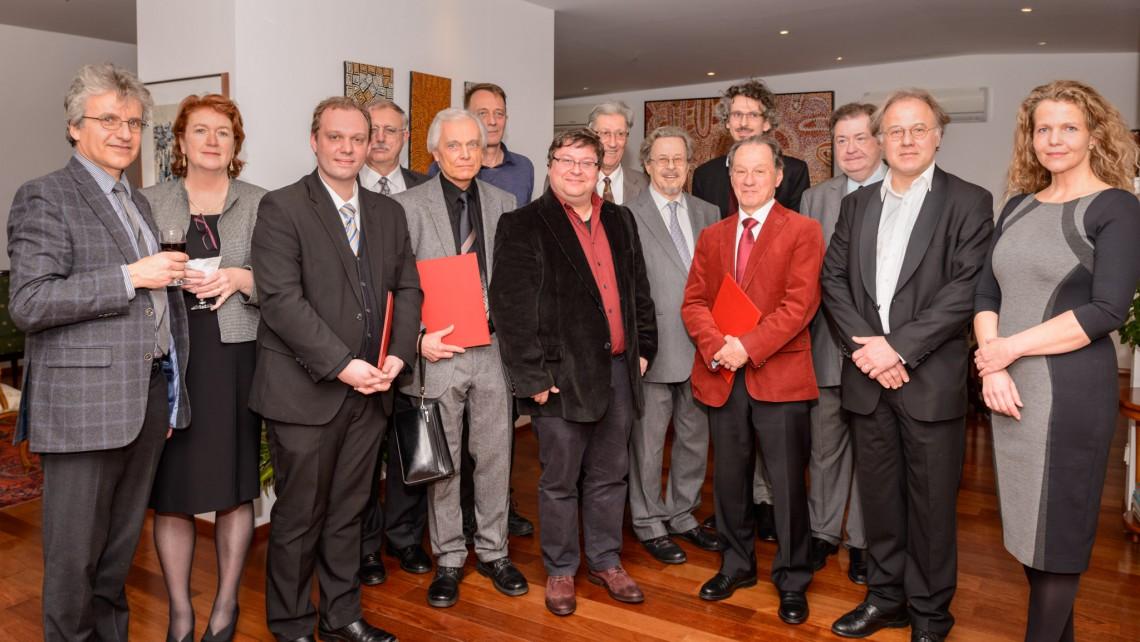 Österreichischer Komponistenbund (ÖKB) PR Bild Paul Lowin Kompositionspreis Preisverleihung