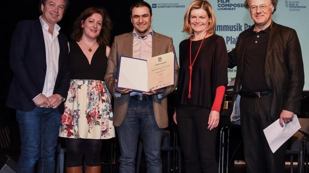 PR Bild ÖKB Preisverleihung Wiener Filmmusik Preis 2016