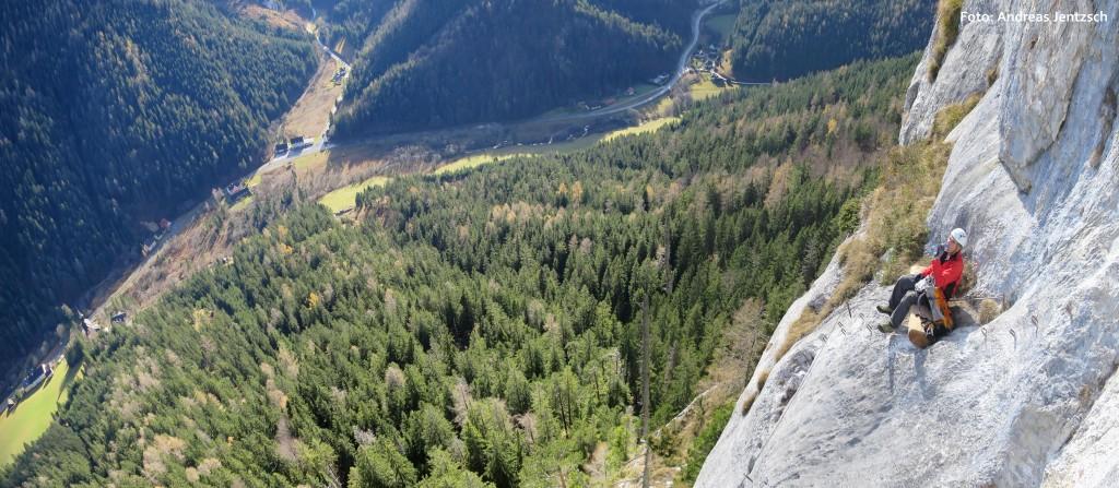 PR Bild Mariazell Klettersteig Spielmäuer @ Andreas Jentzsch