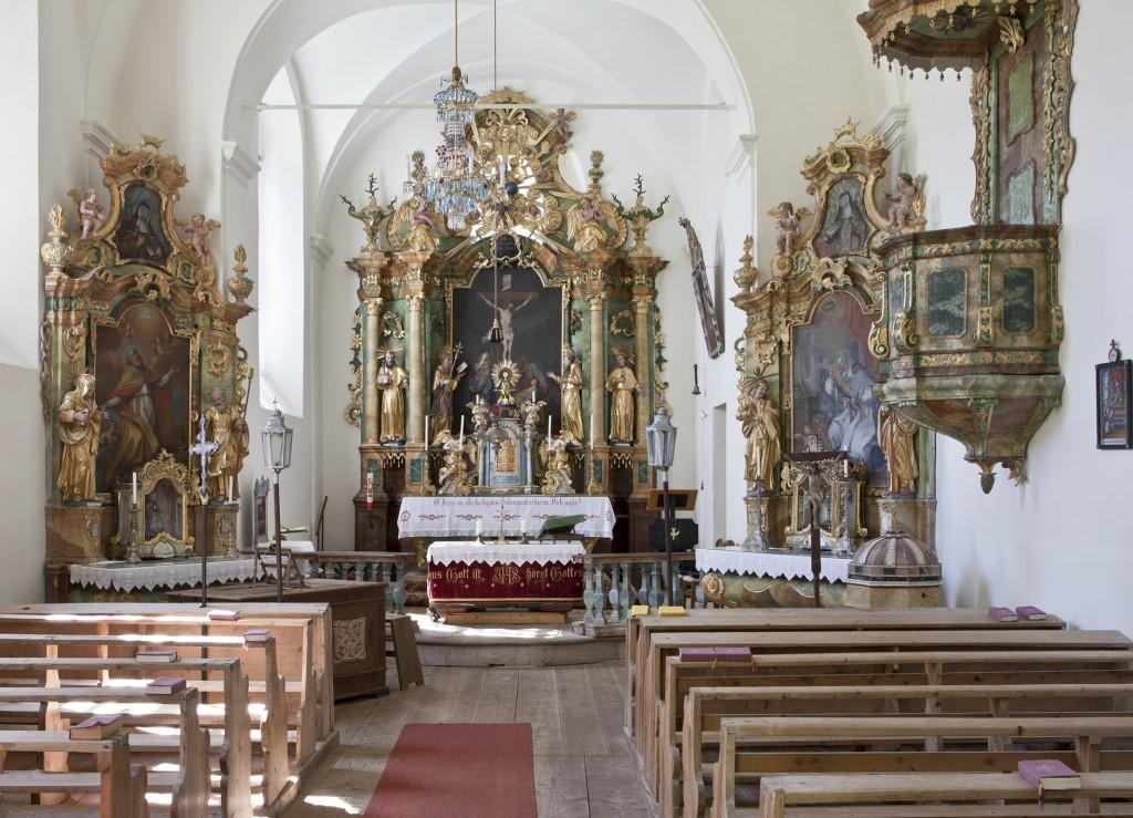 PR Bild BDA Innerteuchen Ehemalige Kloster- und Pfarrkirche © BDA, Foto: Petra Laubenstein