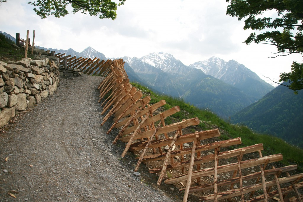 Historischer Alpweg, Nenzingerberg © Thomas Gamon