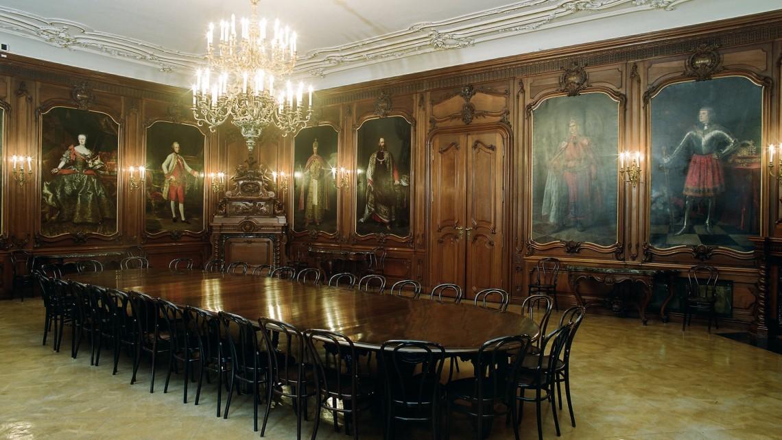 PR Bild BDA Hofburg Ahnensaal Gesamtansicht © BDA Foto Michael Oberer