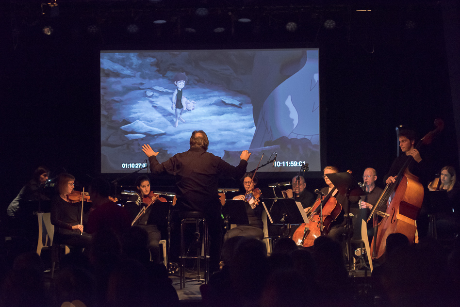 PR Bild ÖKB Wiener Filmmusik Preis Preisverleihung 2017 Filmpräsentation