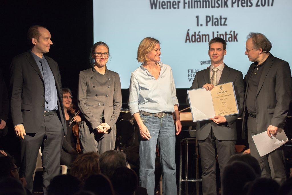 PR Bild ÖKB Wiener Filmmusik Preis Preisverleihung 2017