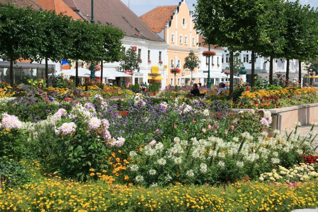 Pressebild Gartenfestwochen Tulln Hauptplatz Tulln © Stadtgemeinde Tulln