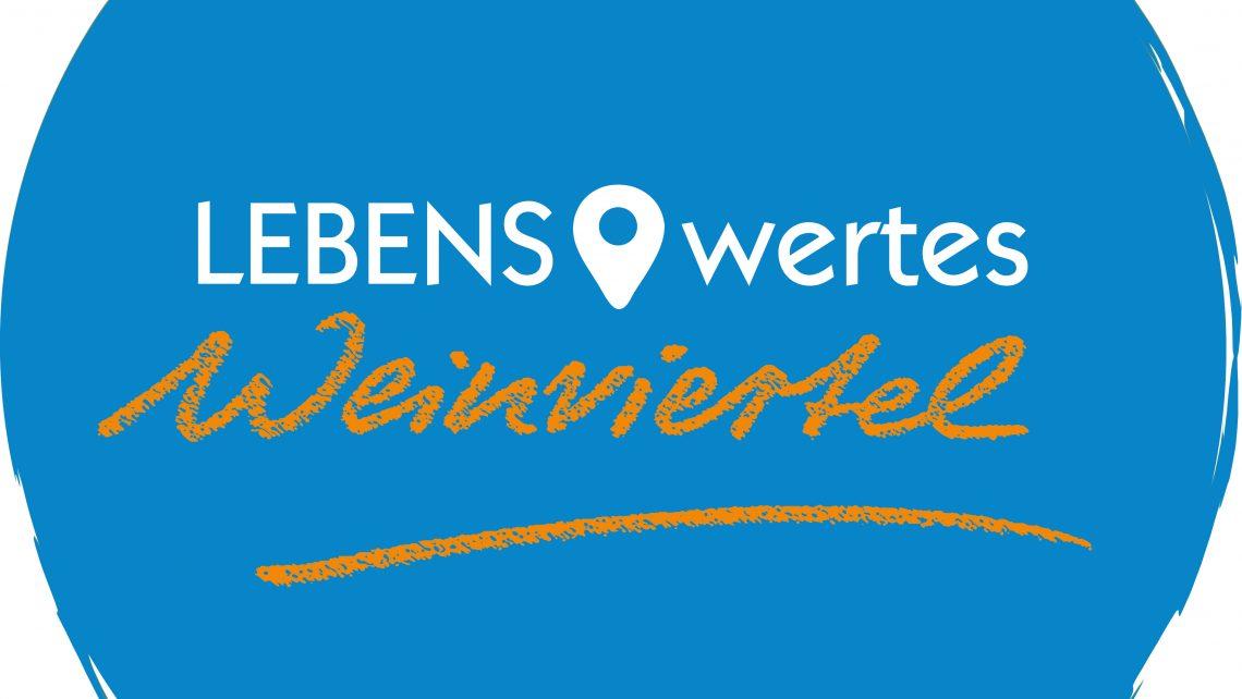 Logo LEBENS.wertes Weinviertel der LEADER Region Weinviertel Ost