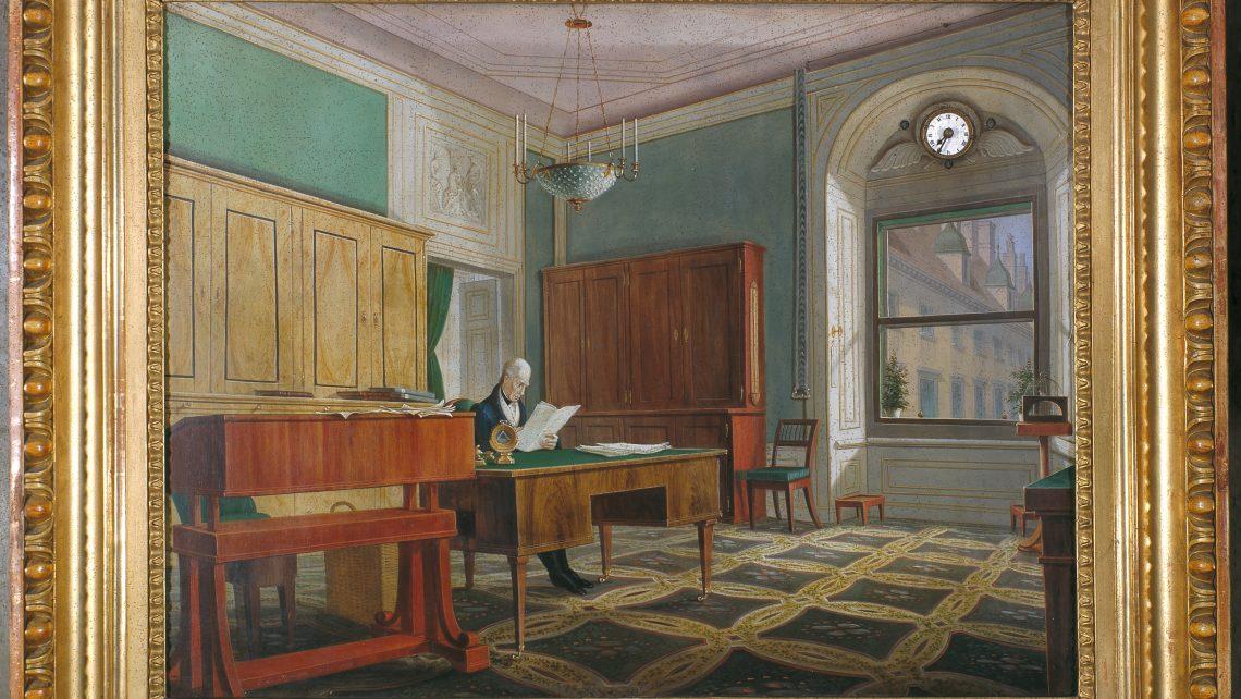 PR Bild Hofburg - Arbeitszimmer von Kaiser Franz II./I.