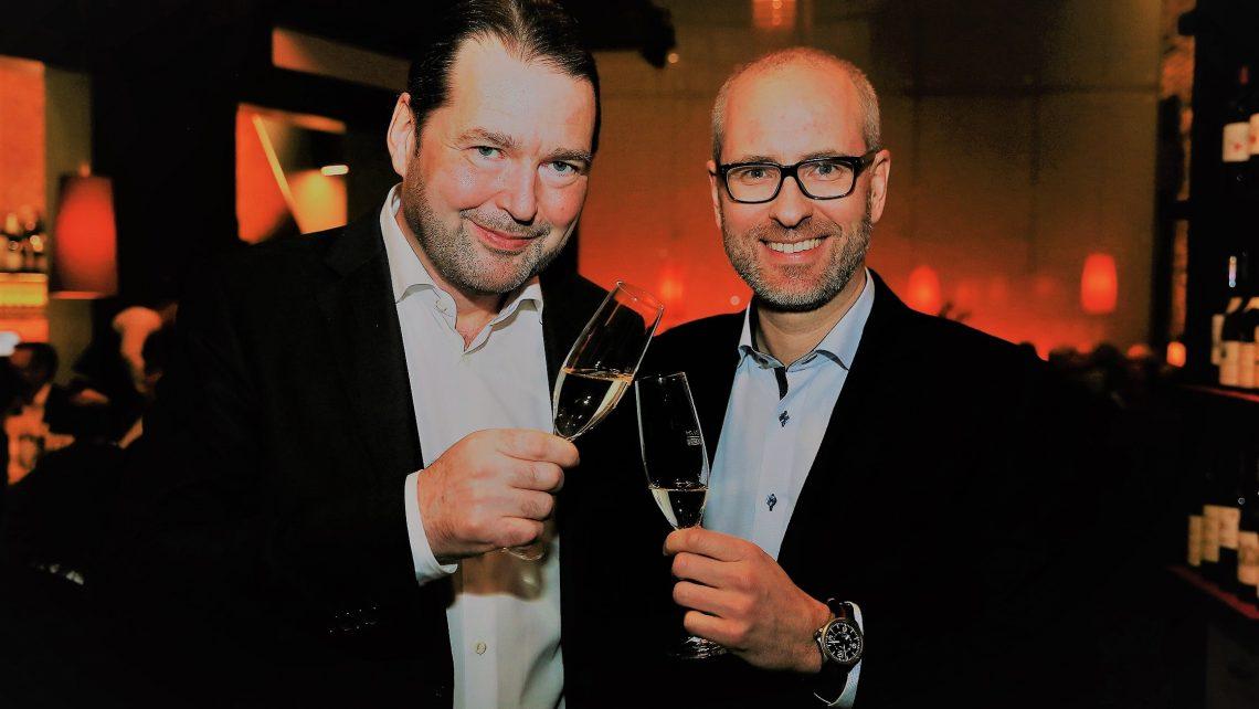 PR Bild Neujahrsempfang Johannes Martschin und Heinz Nusser