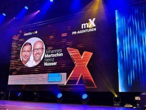 PR Bild/Martschin & Partner/medianet-spert-Award © Martschin & Partner