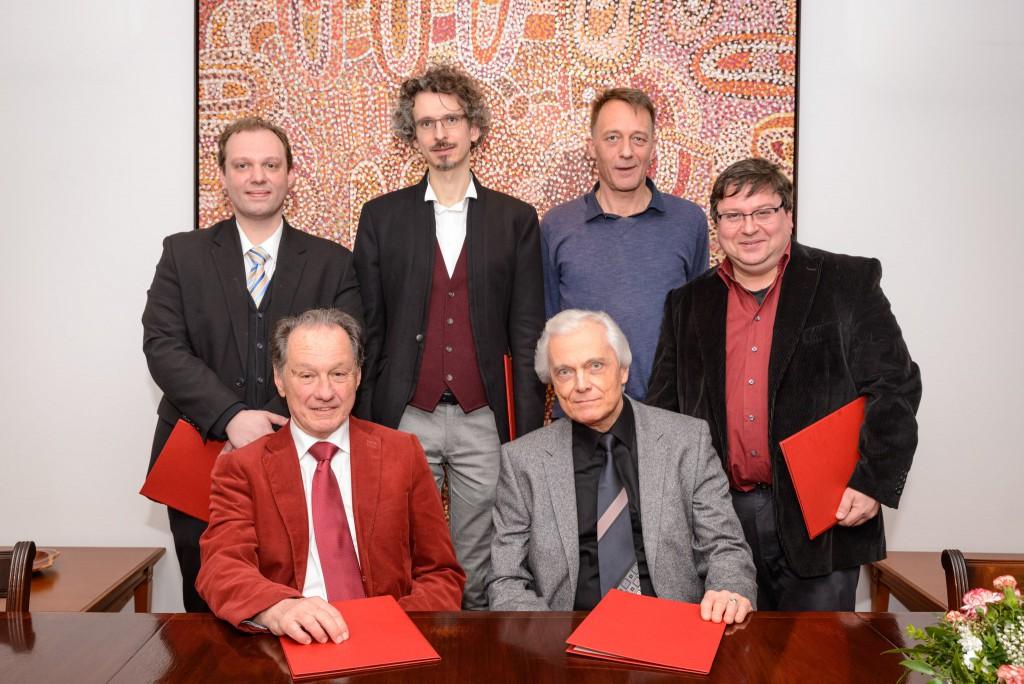 Österreichischer Komponistenbund (ÖKB) PR Bild Paul Lowin Preisträger