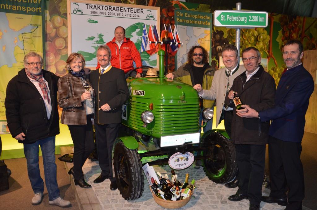 Vino Versum Poysdorf PR Bild Traktorreise