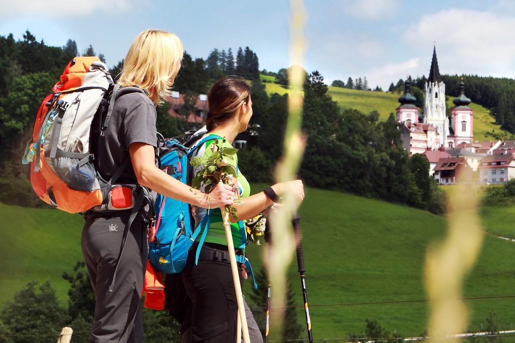 PR Bild Mariazell - Pilgern nach Mariazell © Weinfranz.at