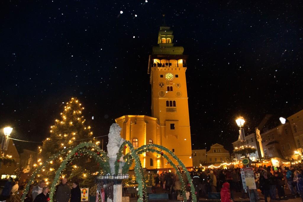 PR Bild Weinviertel Tourismus Adventmarkt Retz © Retzer Land / Astrid Bartl