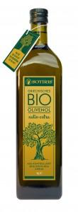 PR Bild SOTIRIS BIO Olivenöl 1L Flasche © Steinbach Trade OG