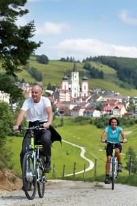 PR Bild Biken in Mariazell © weinfranz