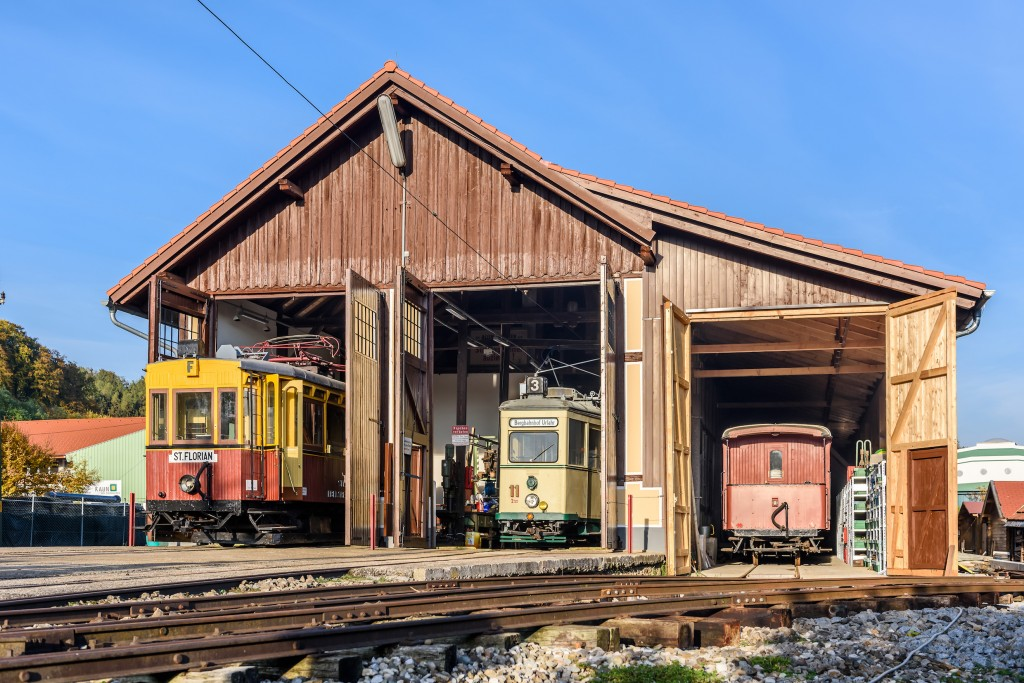 PR Bild BDA Florianerbahn, Historische Remise © Heinzl Rudolf, Club Florianerbahn