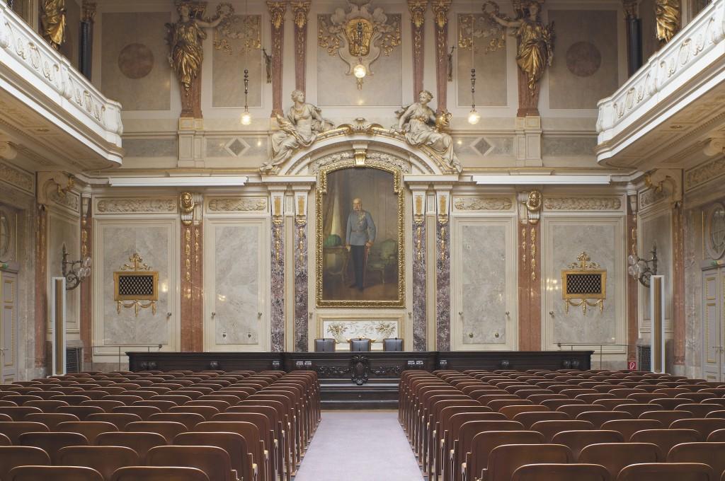 PR Bild BDA Haus der Industrie Großer Festsaal © Bruckner IV