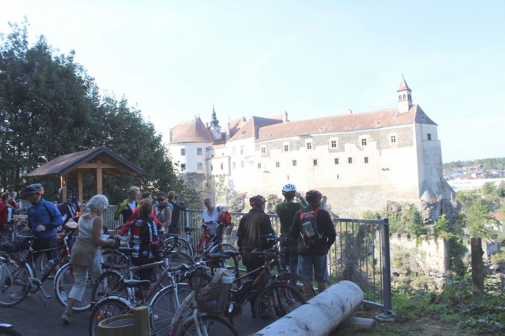 BDA Tag des Denkmals, Fahrradtour Thayarunde PR Bild © BDA, Foto: Bettina Neubauer-Pregl