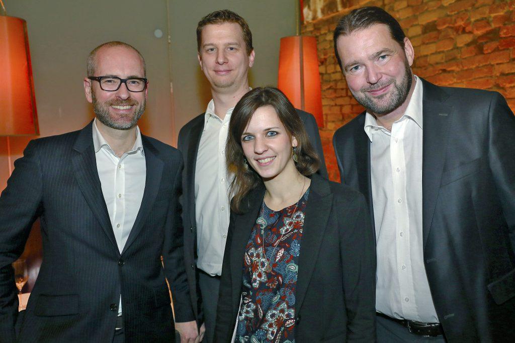 Agenturteam Martschin & Partner © Günther Langegger, v.l.n.r.: Heinz Nusser, Jakob Lajta, Carina Plandor, Hannes Martschin