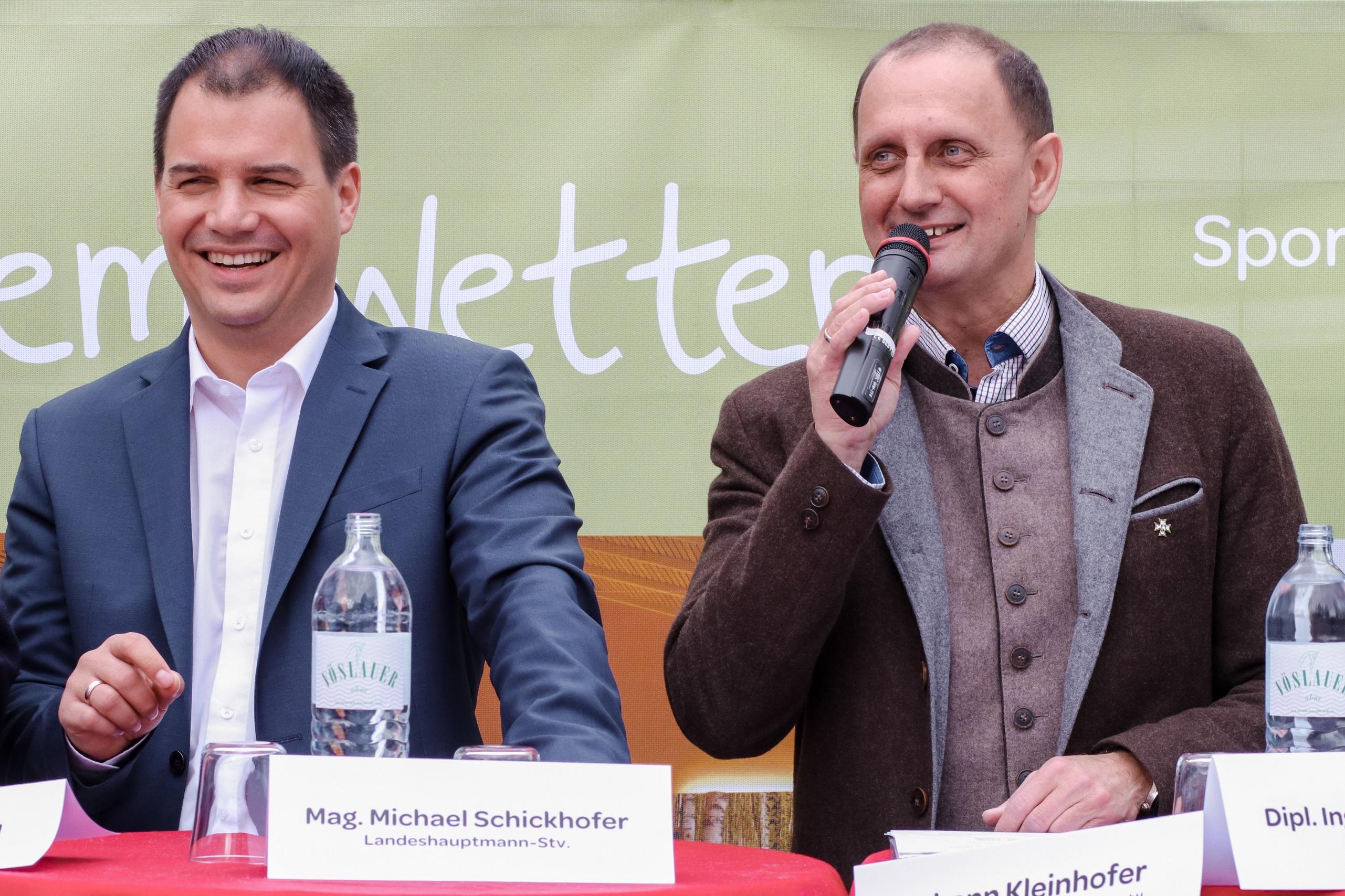 PK Bürgeralpe Michael Schickhofer und Johann Kleinhofer © Anna Maria Scherfler