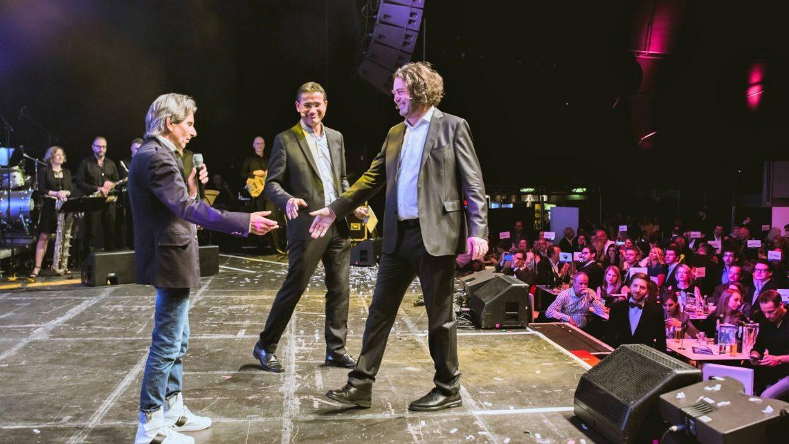 Hannes Martschin bei der xpert-Night 2019 © Laura Busch
