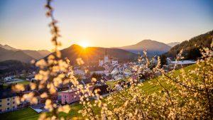Mariazell im Frühling 2020 © Fred Lindmoser