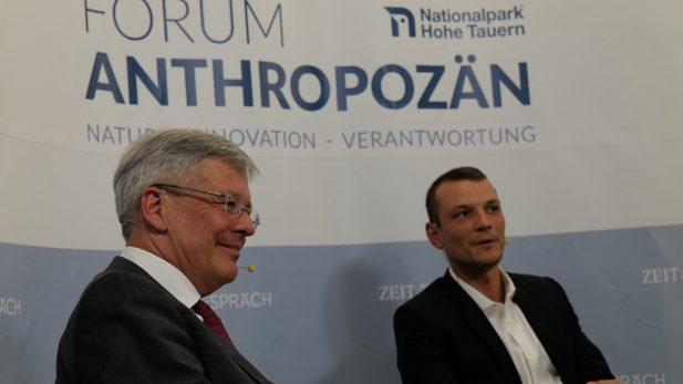 Pressefoto Forum Anthropozän Peter Kaiser, Fritz Habekuß © Christian Senger