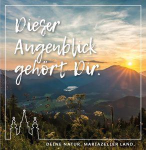 Pressebild Mariazeller Land GmbH Banner Augenblicke © Fred Lindmoser