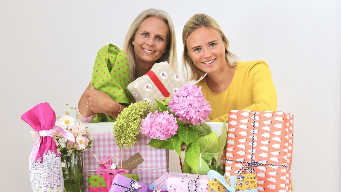 PR-Bild, Geschenkstoff, Gründerinnen von Geschenkstoff, Regina Preloznik und Raina Rumler © Clemens Preloznik