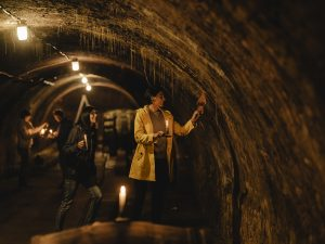 PR Bild Vino Versum Poysdorf Tourismus Wine & Crime © Reidinger