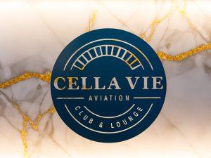 PR Bild Logo CellaVie Aviation Club & Lounge © Adrian Almasan