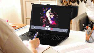 Visualisierung auf Laptop © Anatomage