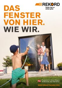Rekord-Fenster Poster © ghost.company